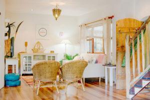 Byron BeachHouse - Living Room